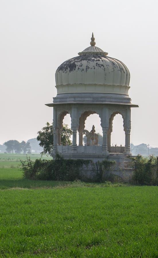 Ratan Singh Rathore Chattri Indore fotografering för bildbyråer