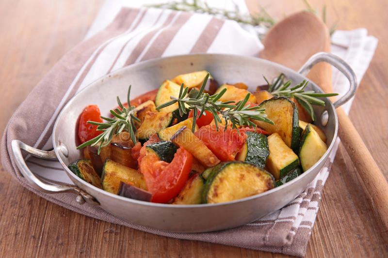 Ratatouille stockbild
