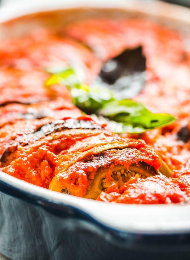 Ratatouille - lagad mat traditionell maträtt för franskaProvencal grönsak fotografering för bildbyråer