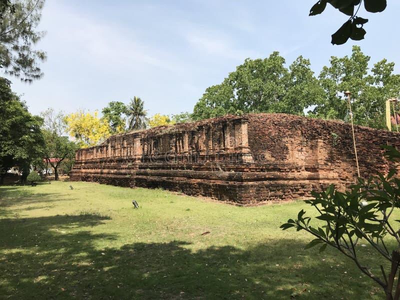 Ban Khu Bua Ancient Town in Ratchaburi, Thailand. stock photography