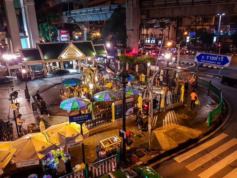 Ratchadamri Таиланд стоковое фото