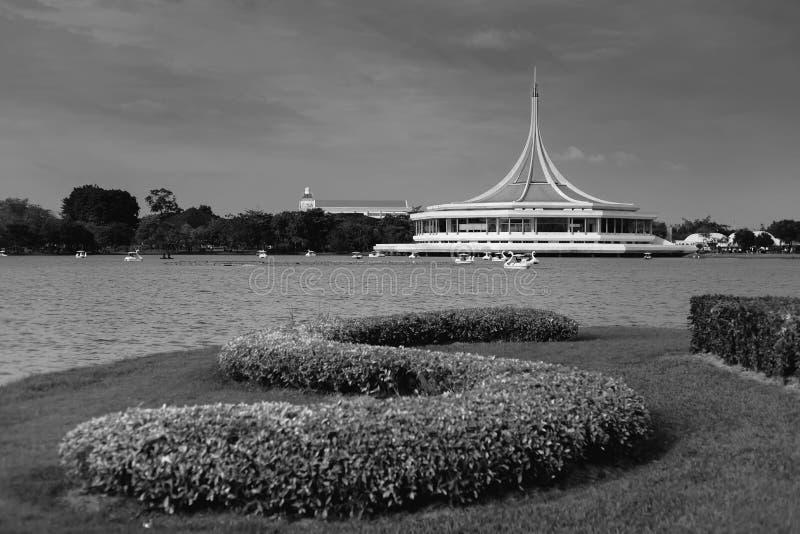 Ratchamongkol大厅在Suanluang RAMA IX公园 免版税库存图片