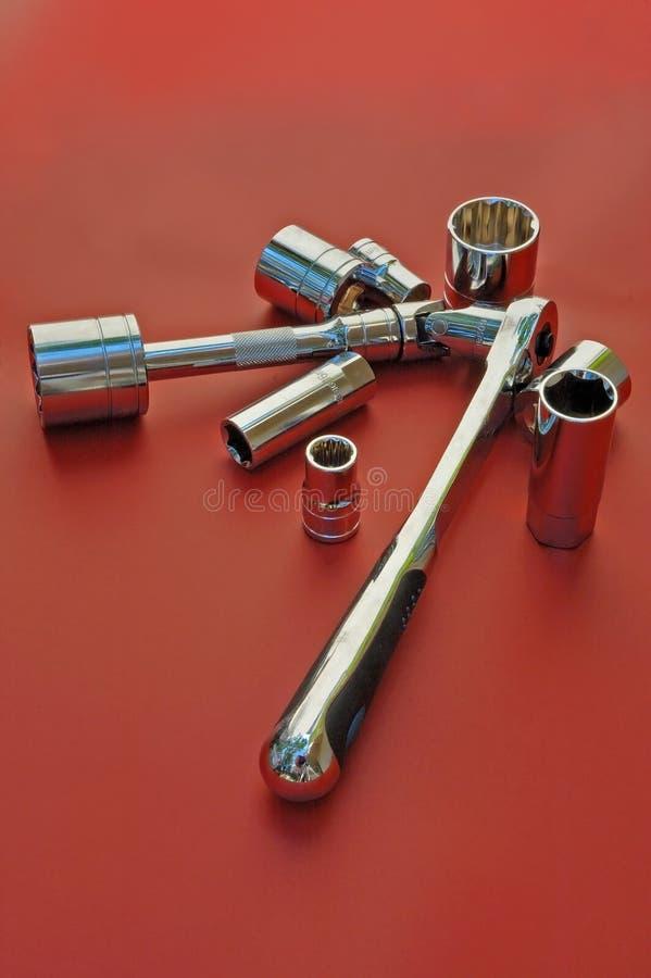 Download Ratchet kit stock photo. Image of fitter, mechanic, bolt - 2318732