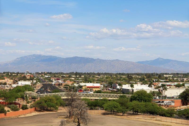 Ratelslangbrug in Tucson Arizona royalty-vrije stock fotografie