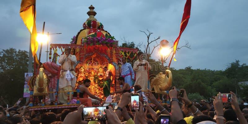 Rath yatra. Festival dedicate to lord vishnu.. Famoid, odisha royalty free stock photos