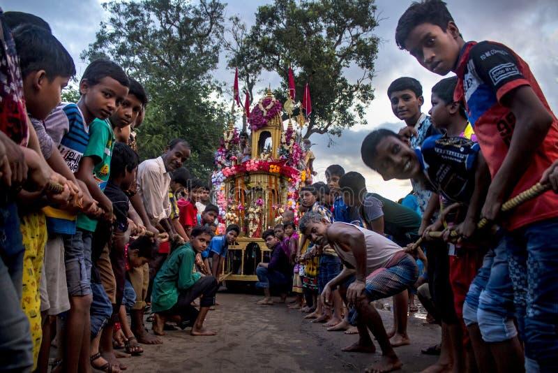 Rath Yatra. Indian Famous Ratha Yatra festival stock photography