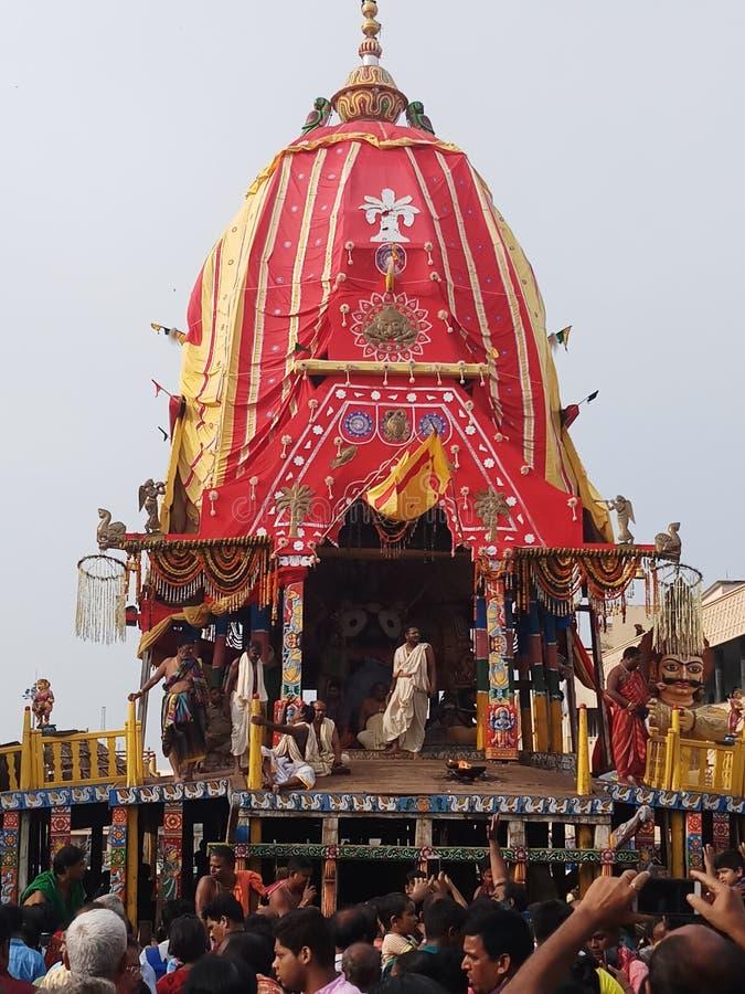 Ratha yatra. Puri dhama gundicha yatra stock image