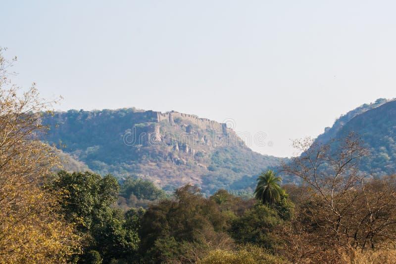 Rathambhorefort Swai Madhopur Rajasthan royalty-vrije stock fotografie