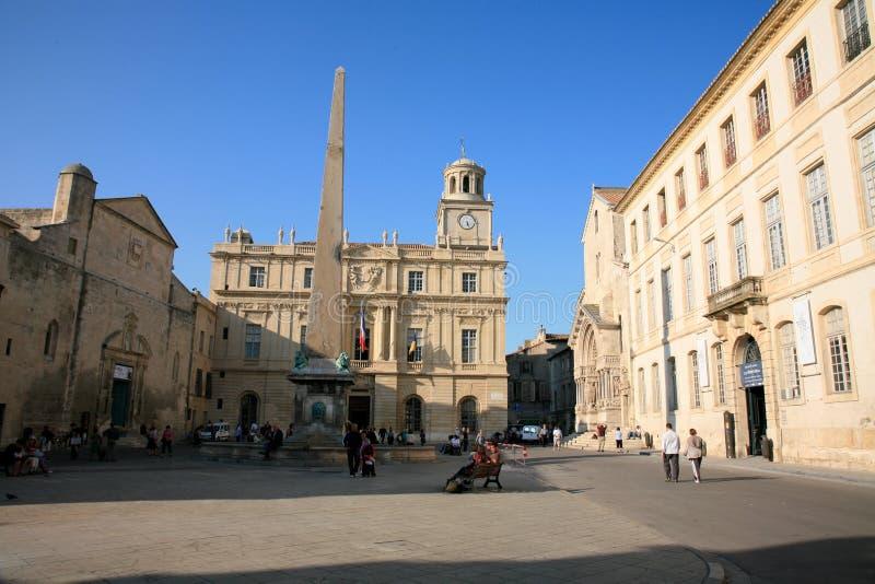 Rathaus auf Place de la République, Arles, Bouche-DU-RhÃ'ne, Frankreich stockfoto