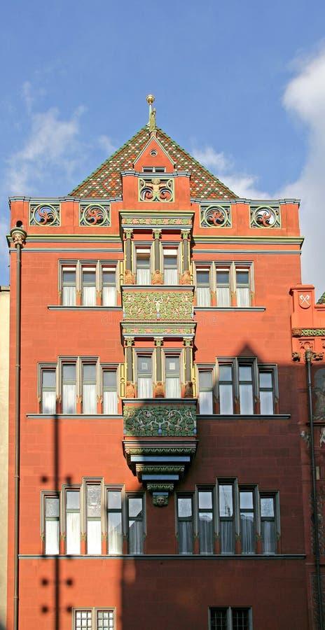 Rathaus Basel 1 lizenzfreie stockbilder