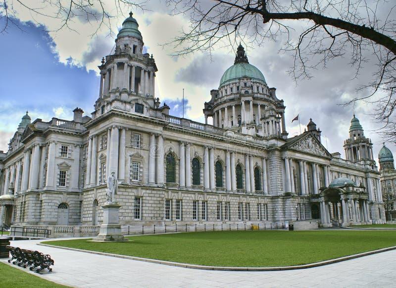 Rathaus, Belfast Nordirland stockfoto