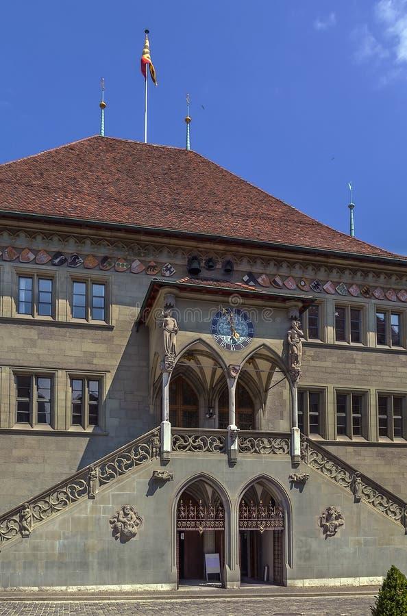 Rathaus, Bern lizenzfreie stockbilder