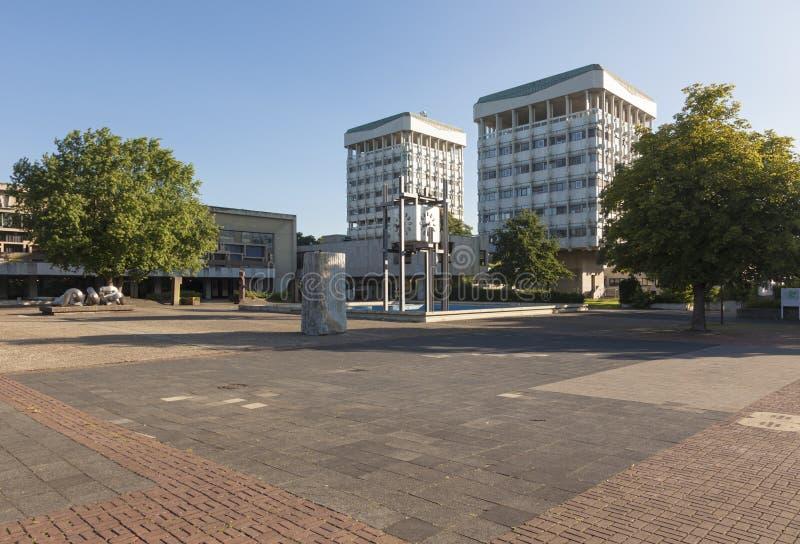 Rathaus des Mergels, Deutschland lizenzfreies stockfoto