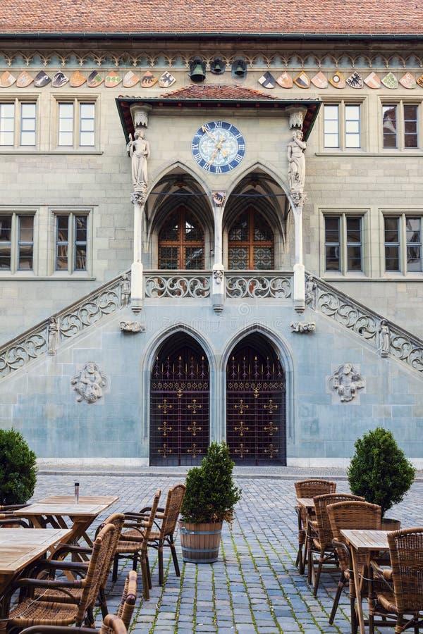 Rathaus em Berna foto de stock royalty free