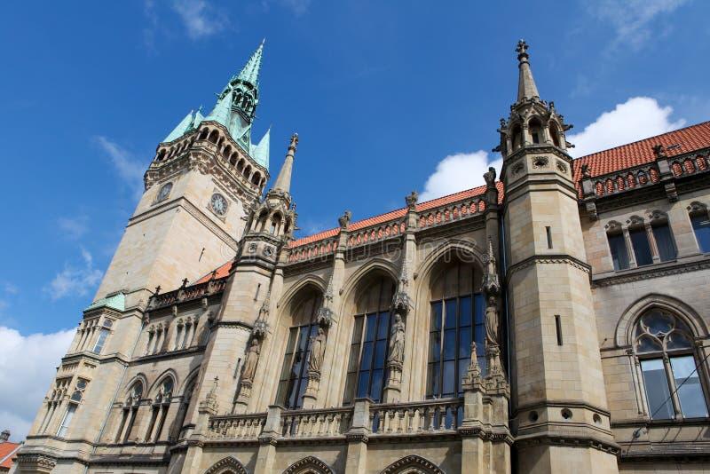 Rathaus en Brunswick fotos de archivo libres de regalías