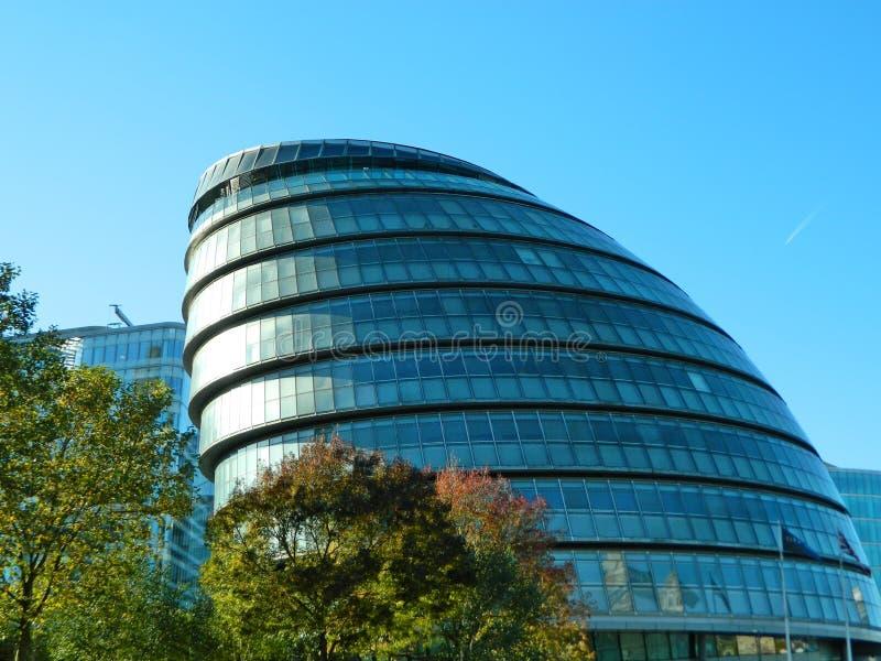 Rathaus ist die Hauptsitze der London- mit Außenbezirkenberechtigung stockfoto