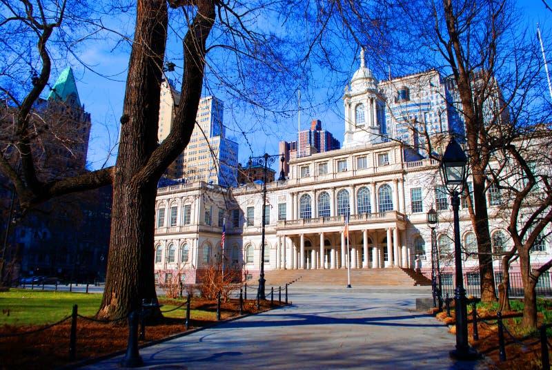 Rathaus, New York stockfoto