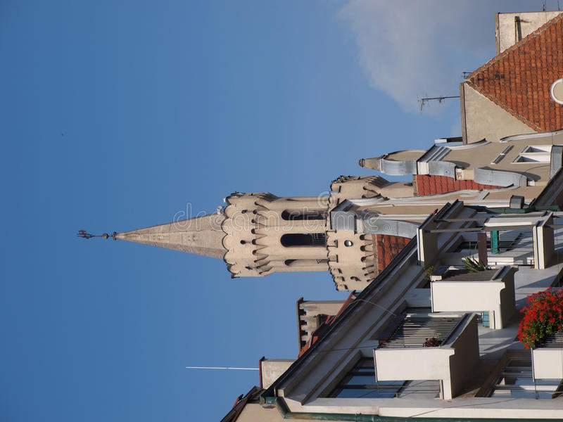 Rathaus, Opole, Polen lizenzfreies stockfoto