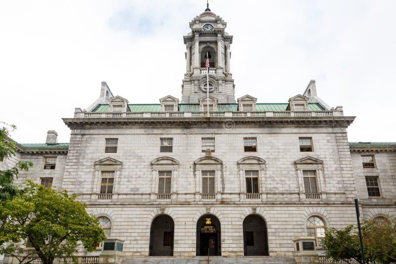 Rathaus in Portland Maine stockfotografie