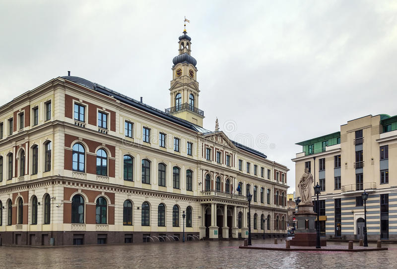 Rathaus, Riga lizenzfreie stockfotografie