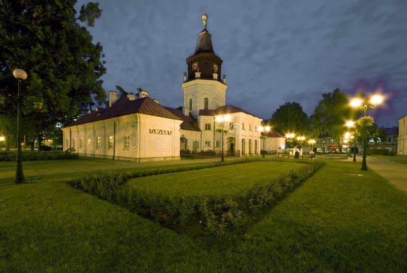 Rathaus in Siedlce, Polen lizenzfreie stockfotografie