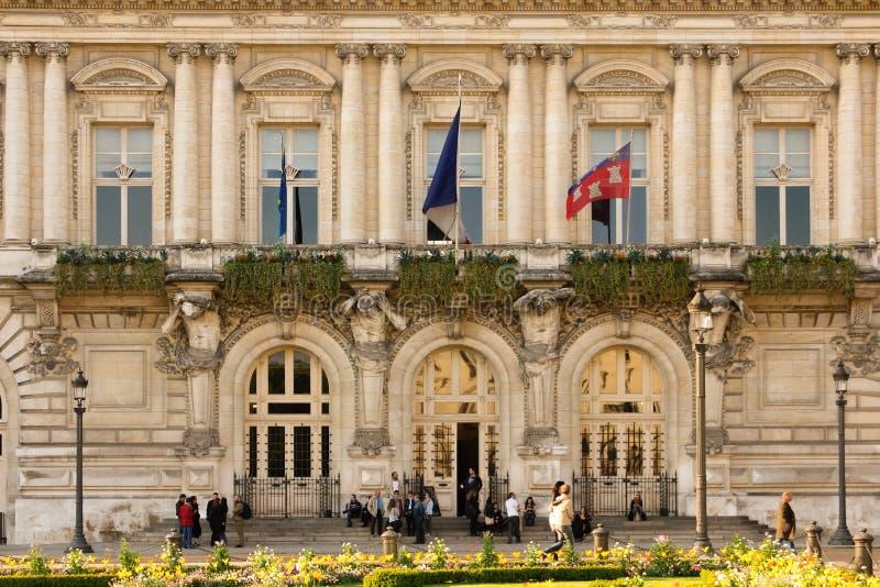 Rathaus touren frankreich stockfoto