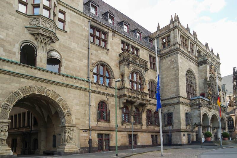 Rathaus von Duisburg in Deutschland lizenzfreie stockfotografie