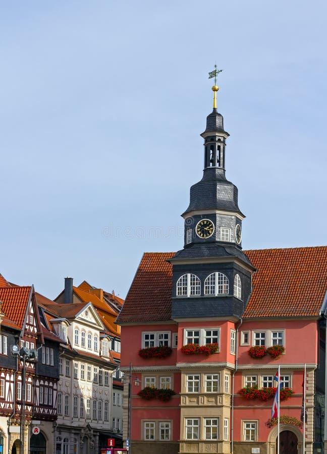 Rathaus von Eisenach, Deutschland stockbild