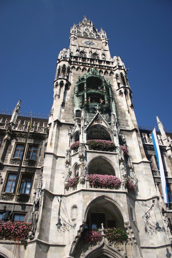 Rathaus von München lizenzfreie stockfotos
