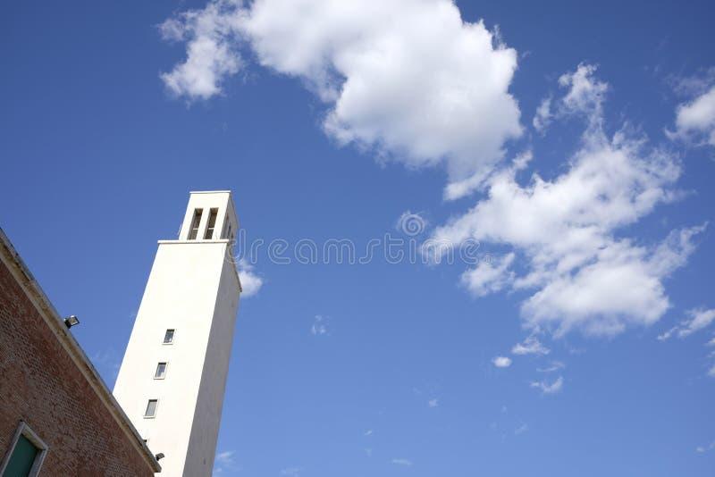 Rathaus von Sabaudia stockbild