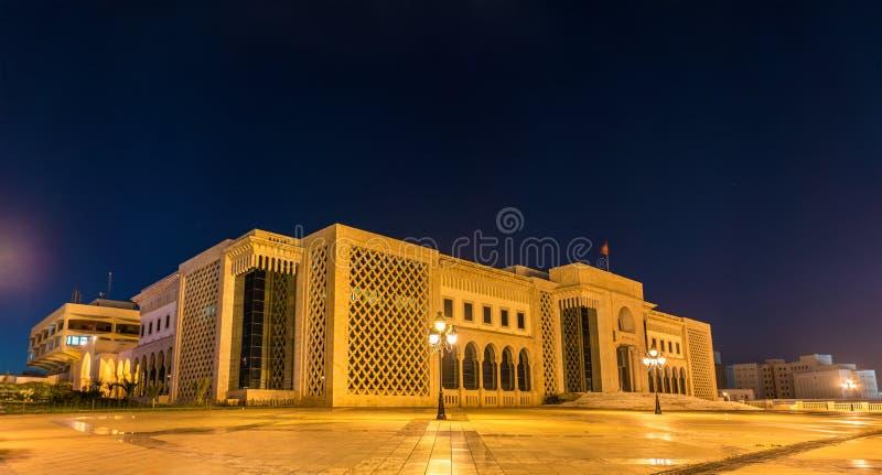 Rathaus von Tunis auf Kasbah-Quadrat Tunesien, Nord-Afrika lizenzfreies stockbild