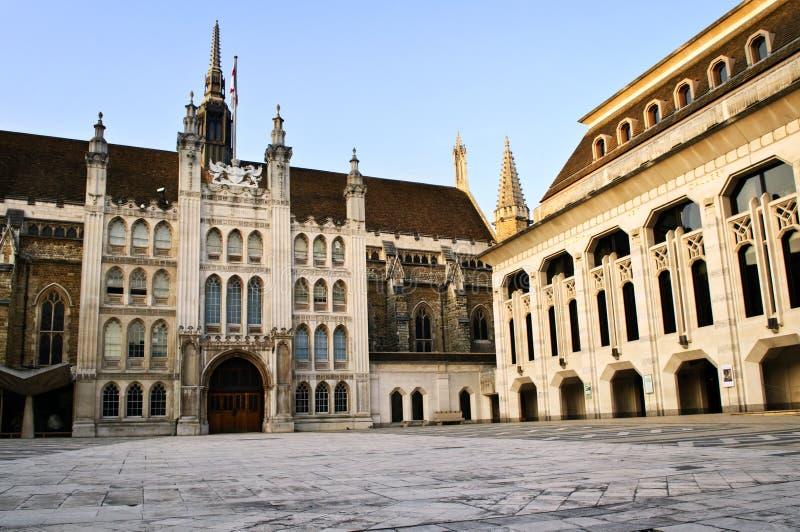 Rathausgebäude und Kunst-Galerie lizenzfreies stockfoto