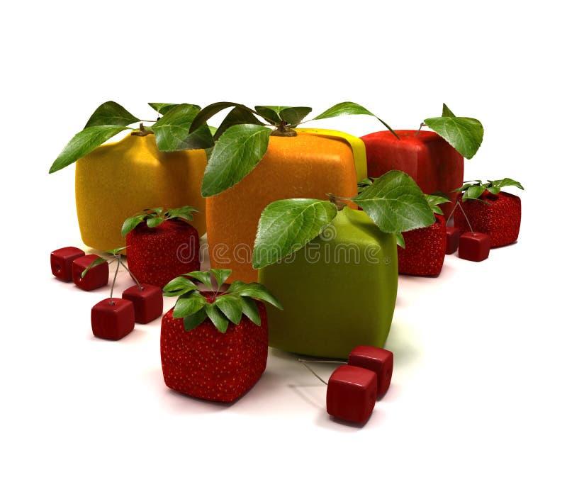 Download Rational fruits stock illustration. Illustration of apple - 13332277