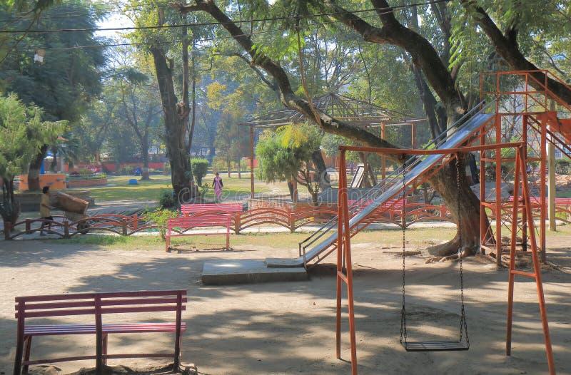 Ratna park Kathmandu Nepal. People visit Ratna park in Kathmandu Nepal royalty free stock images