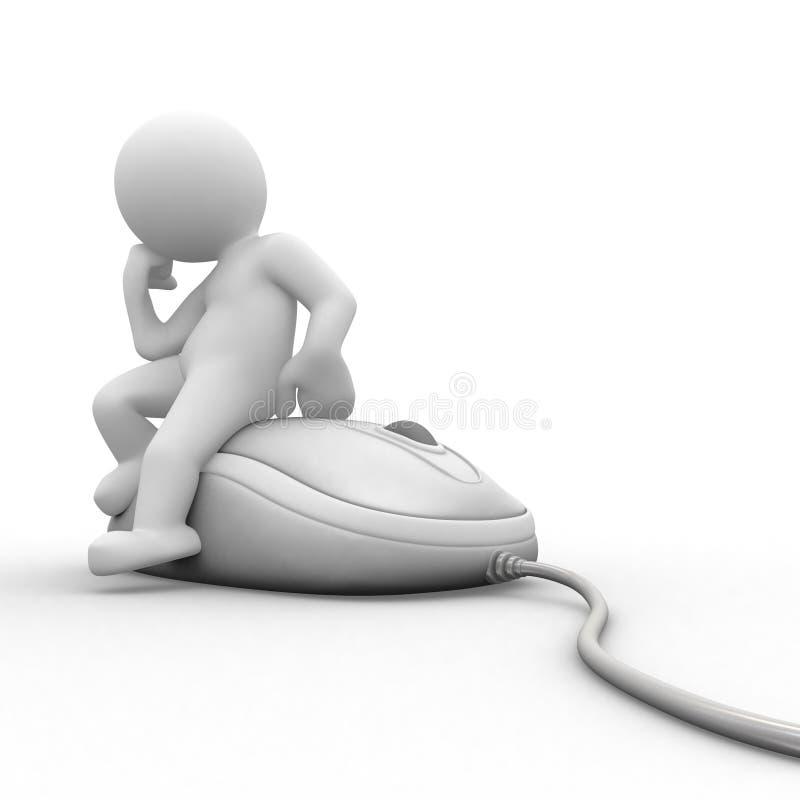 Rato do computador ilustração do vetor
