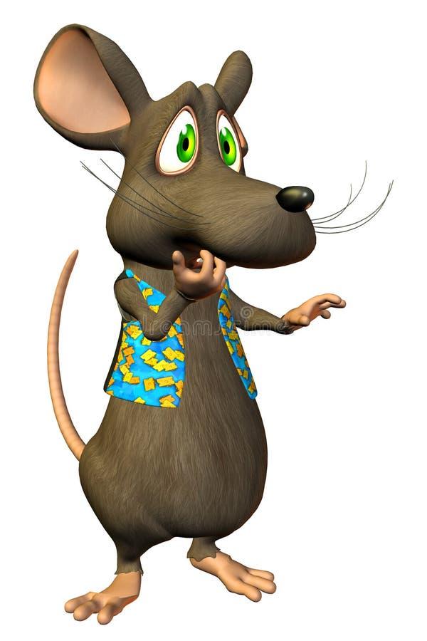 Rato dos desenhos animados -   ilustração royalty free