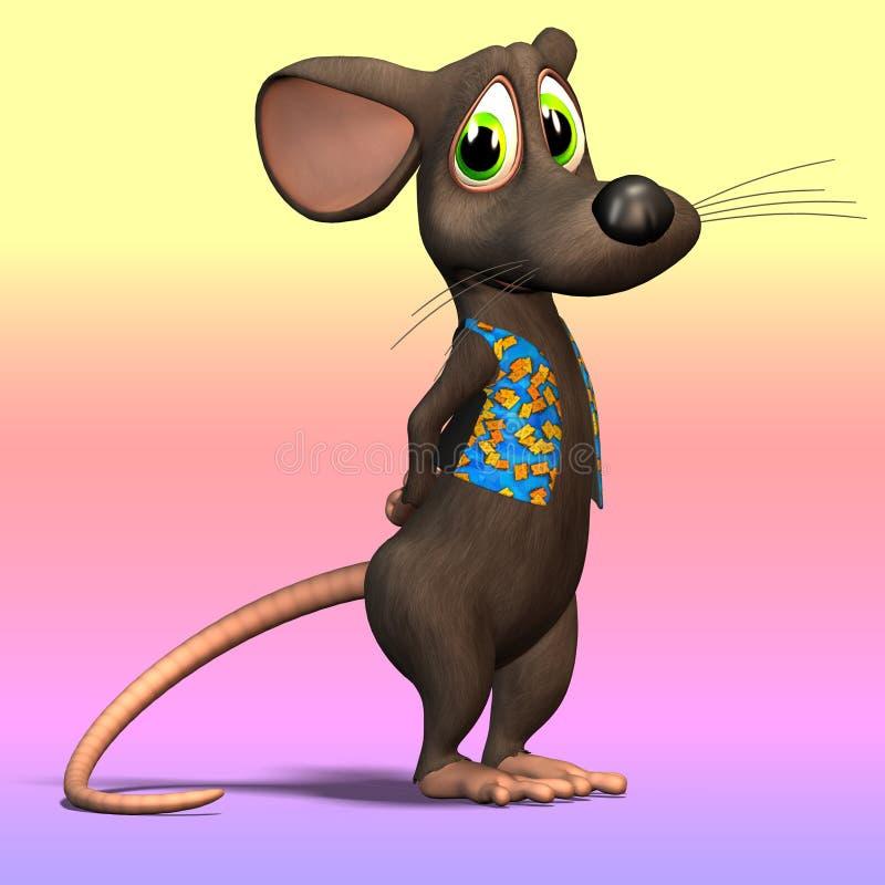 Rato dos desenhos animados ou rato #05 ilustração do vetor