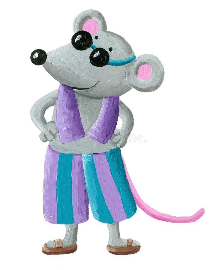Rato na praia
