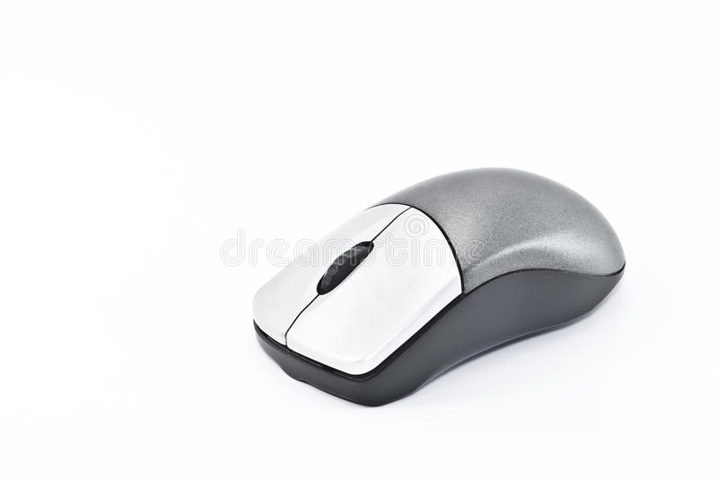 Rato sem fio imagem de stock
