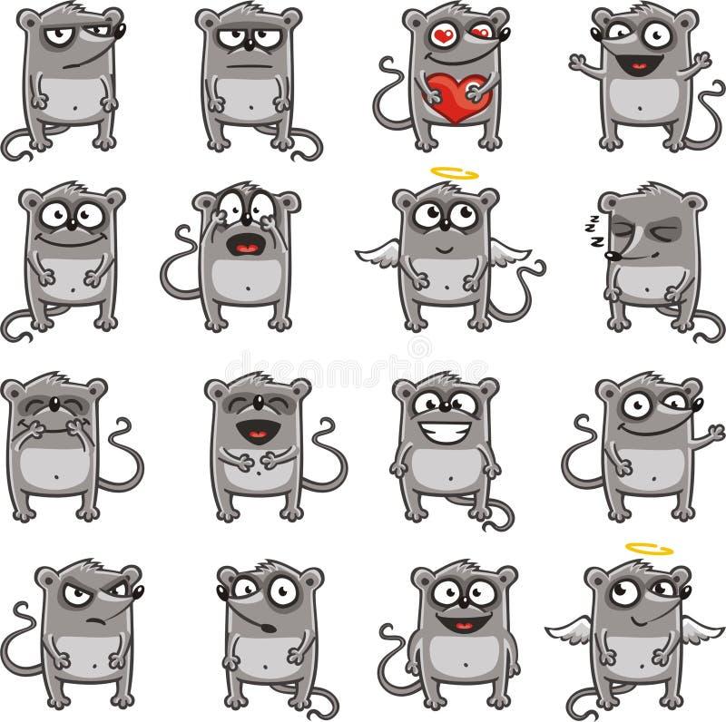 Ratones divertidos (1) ilustración del vector