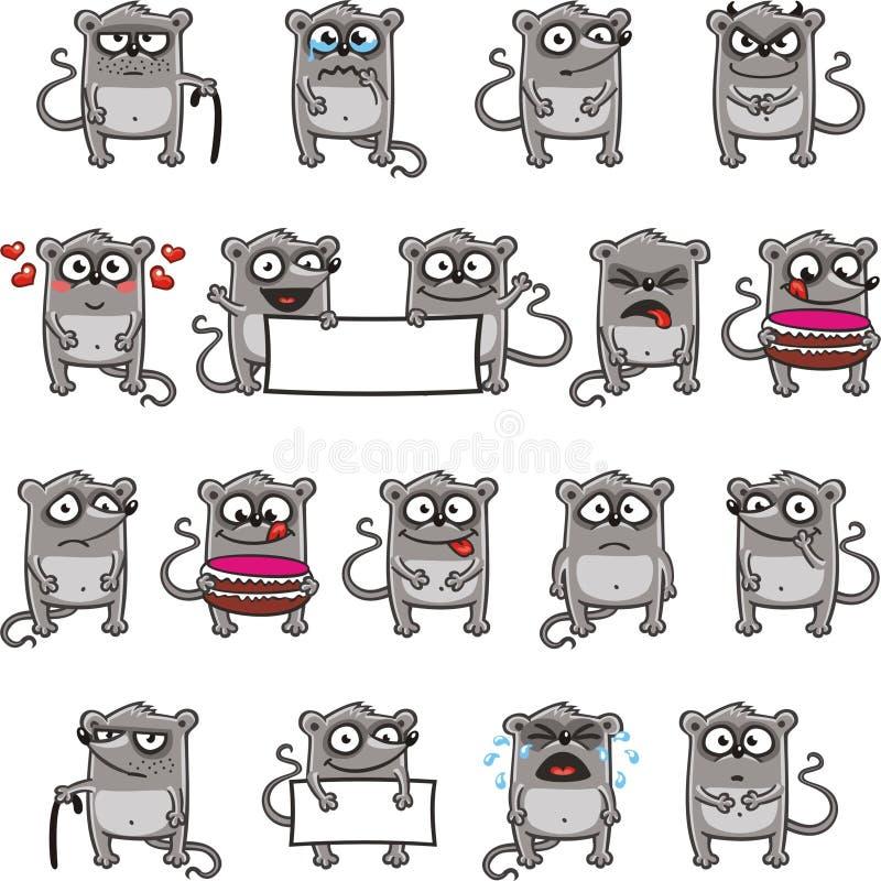 Ratones divertidos (3) libre illustration