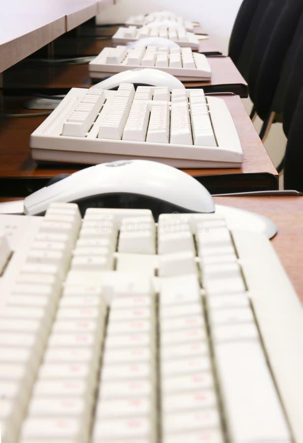Ratones y teclados foto de archivo