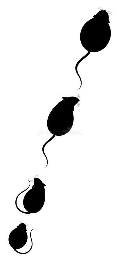 Ratos macios encantadores ilustração do vetor