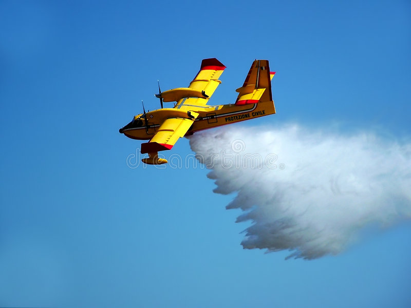 ratowanie życia statku powietrznego zdjęcie stock