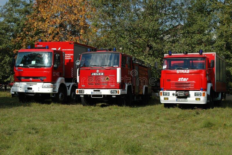 Ratowniczy i pożarniczy pojazdy bojowi zdjęcie royalty free