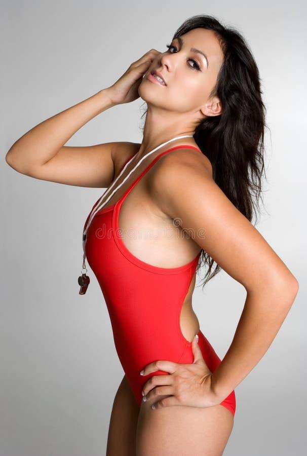 ratownik sexy fotografia stock