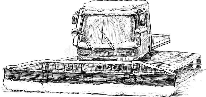 Ratrak stock illustrationer