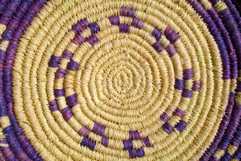 Rattan basket royalty free stock images