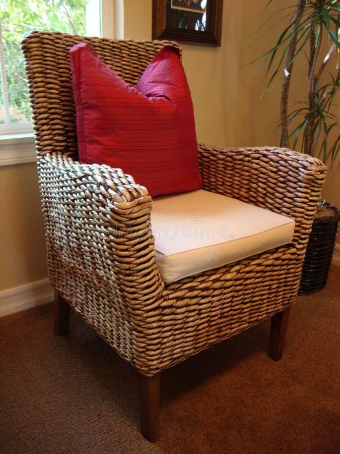 Rattan Chair Stock Photography