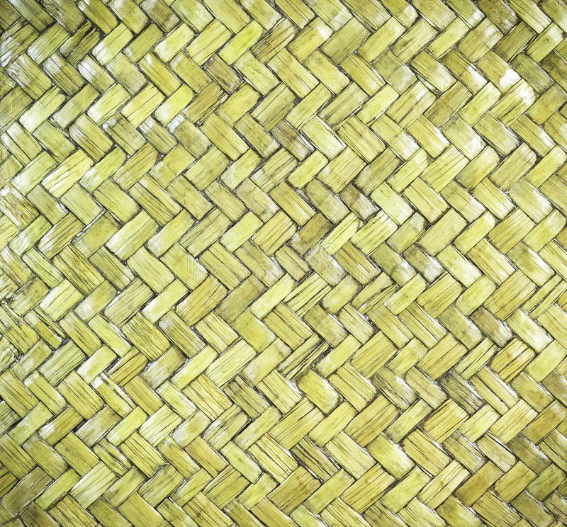 Rattan di bambù di legno immagini stock